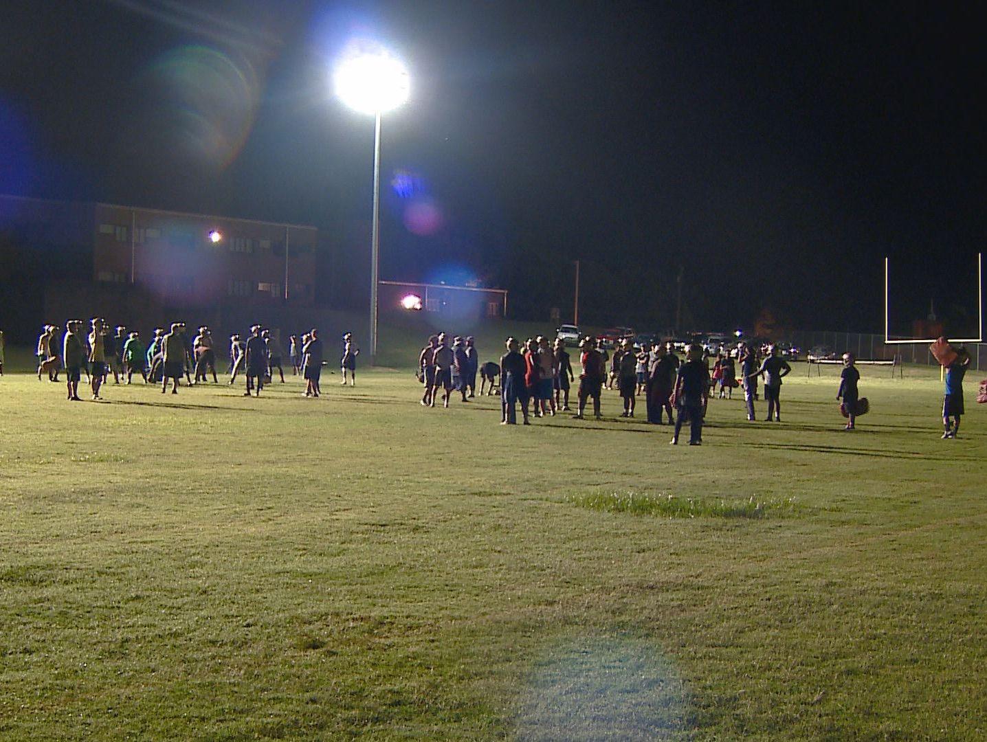 Reidsville Football Practice
