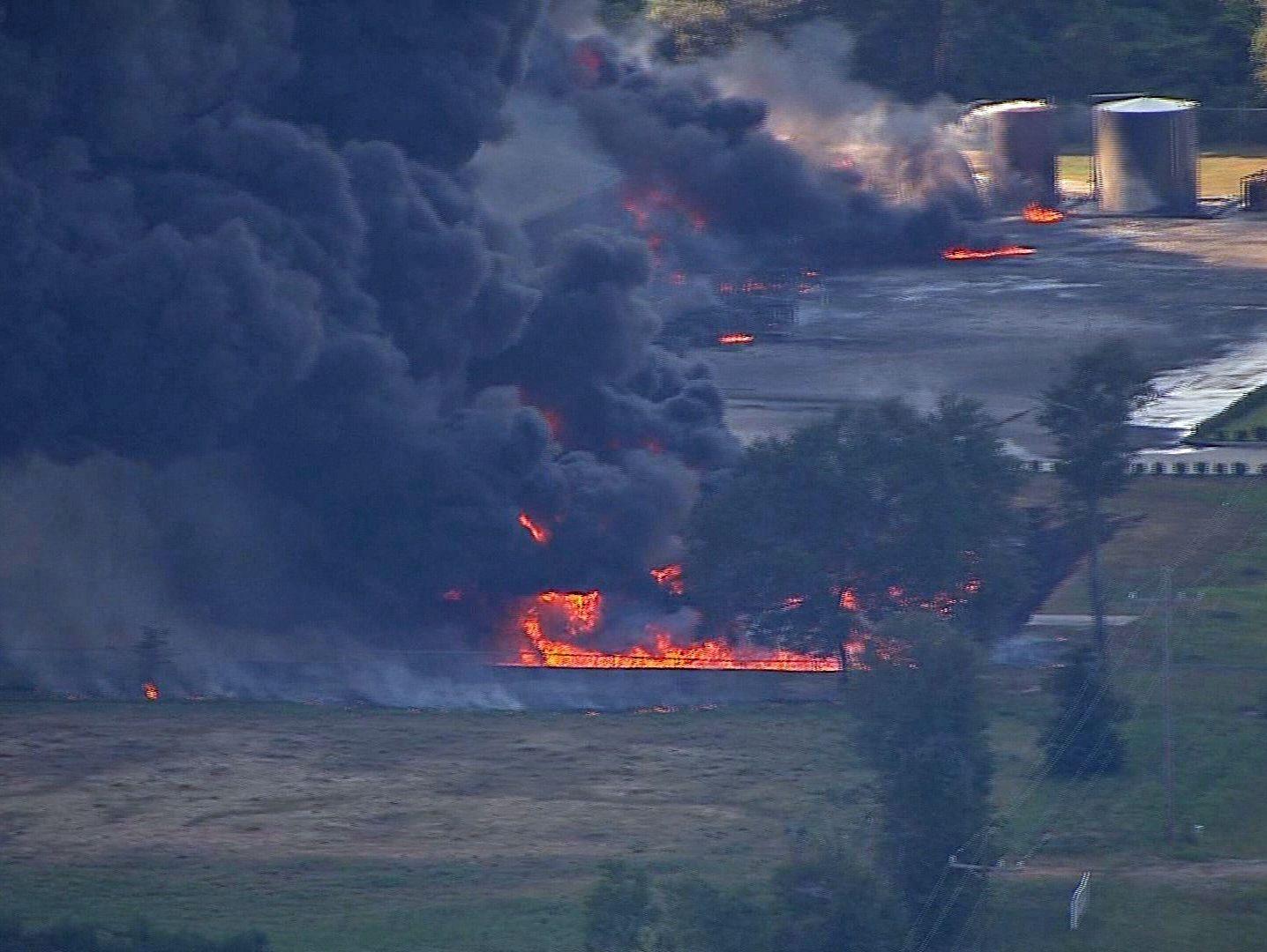 Explosions Rip Through Texas Chemical Plant
