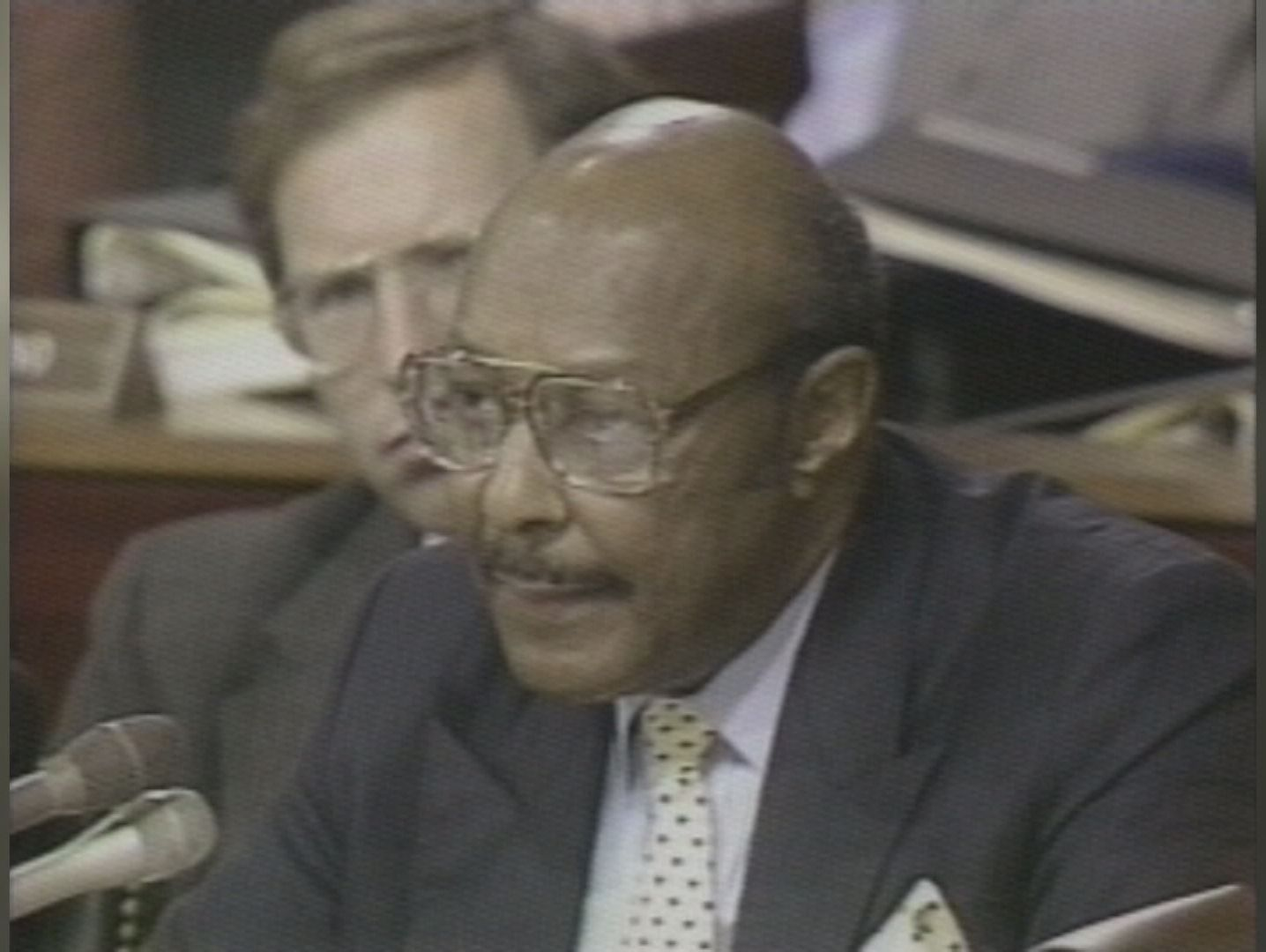 Louis Stokes, who was the first African-American member