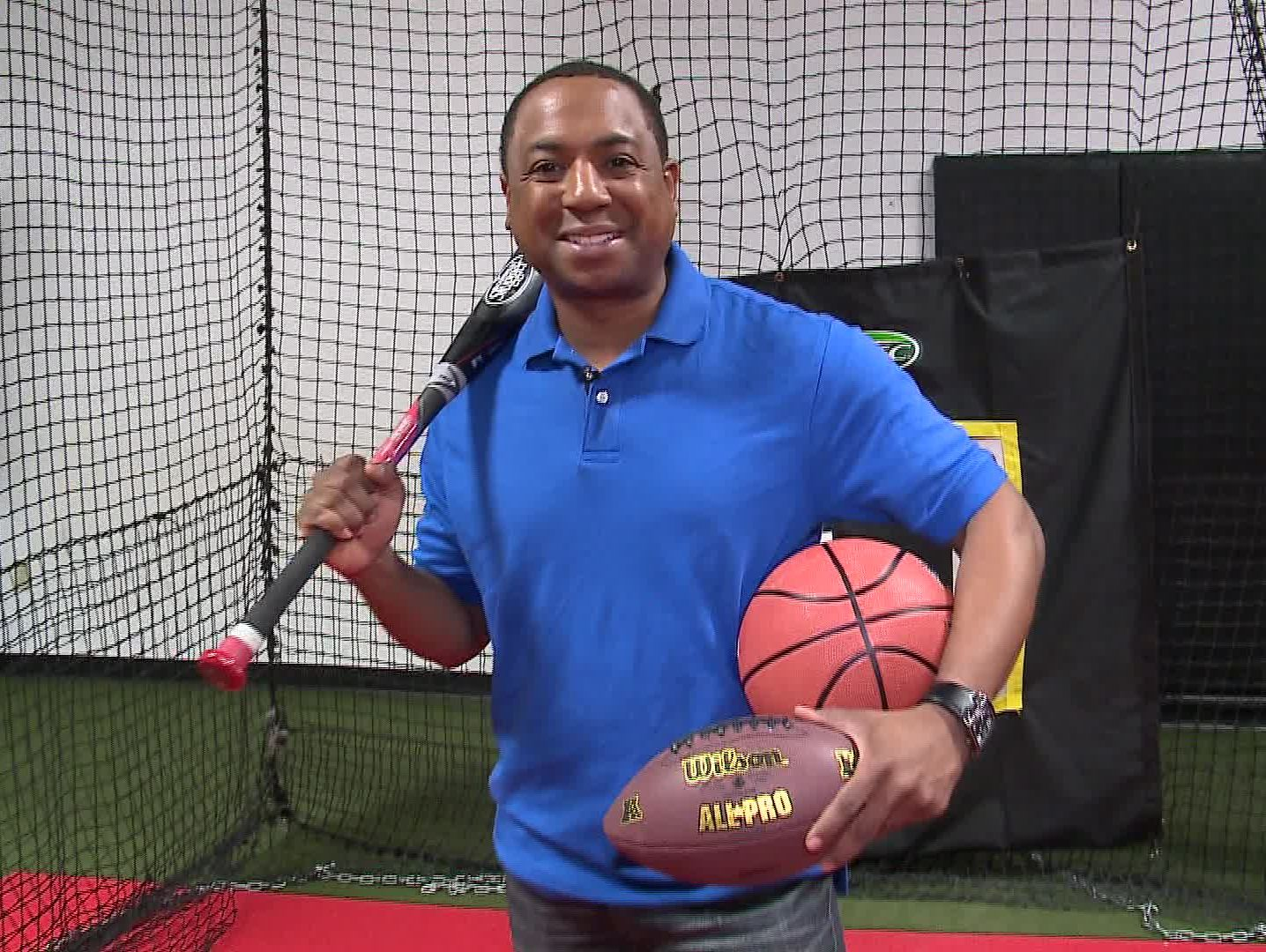 13News Now anchor Andre Senior talks to sports pros about their tips for student athletes.