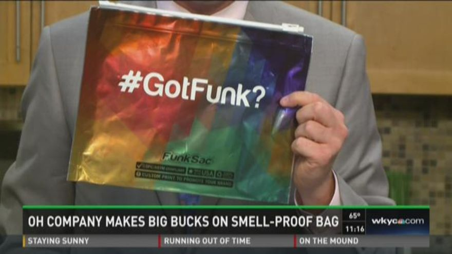 smell proof bags, ohio, funksac