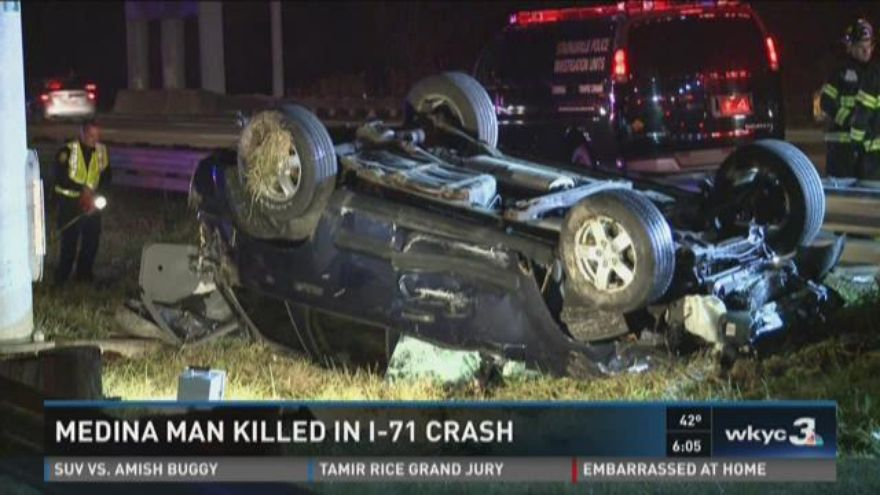 UPDATE   Medina ...I 71 Accident Ohio