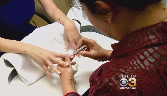 Study: Flame retardant in nail polish found in women's